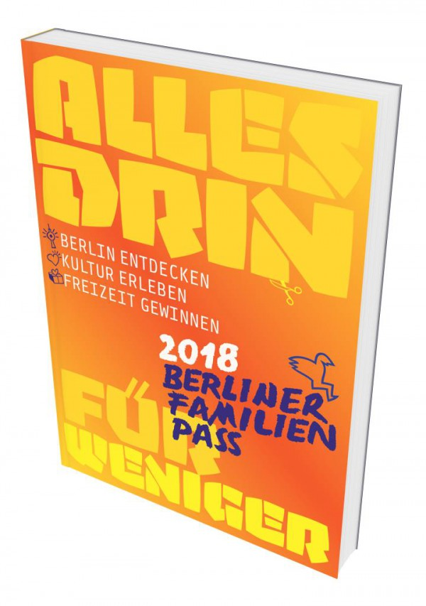 Berliner Familien Pass 2018_cover